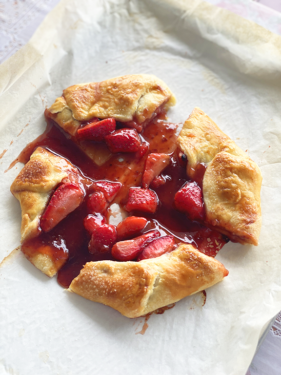 Strawberry Jam Galette