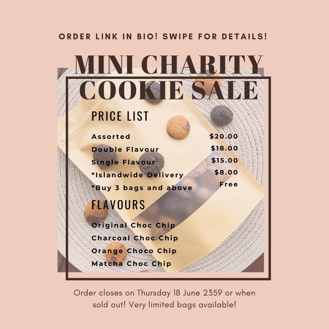 Singapore Cookie Bake Sale